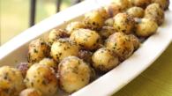 Basil Parmesan potatoes