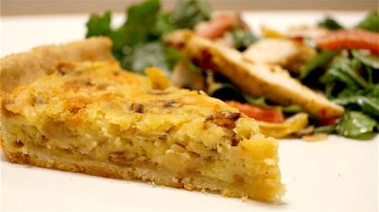 Sweet potato tart