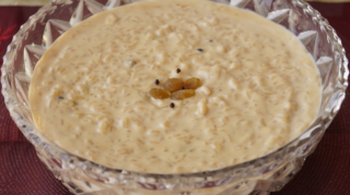 Rice Pudding (Nolen Gur'er Payesh)
