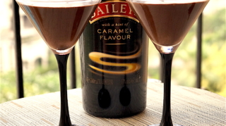 Mint Chocolate mousse with Baileys