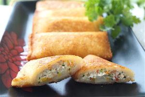 Dahi Kebab Parcels (Yoghurt Parcels)