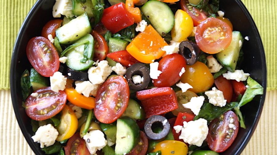 Summery Greek Salad