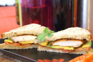 Gourmet Balsamic Chicken, Avocado Sandwich