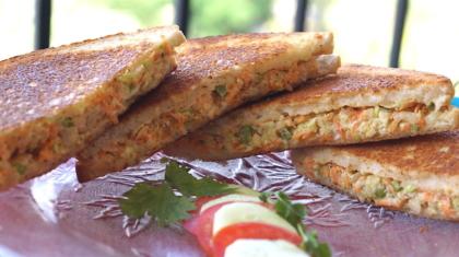 vegetable coleslaw sandwich with no mayo