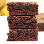 Fudgy, Gooey Dark Chocolate Brownies