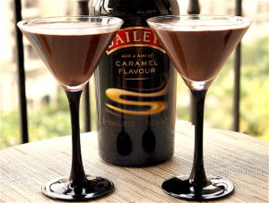 Mint Chocolate Mousse with Baileys Irish Cream