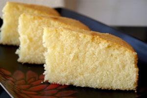 Moist Vanilla, Butter Cake