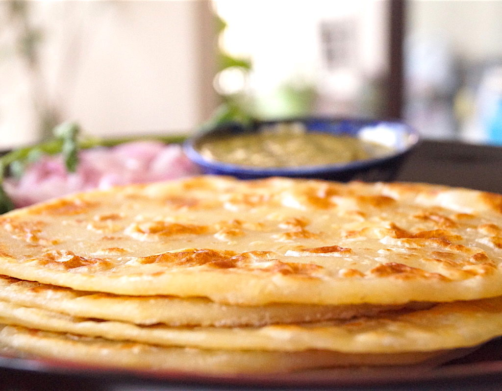 Indian flour based flatbread paranthas