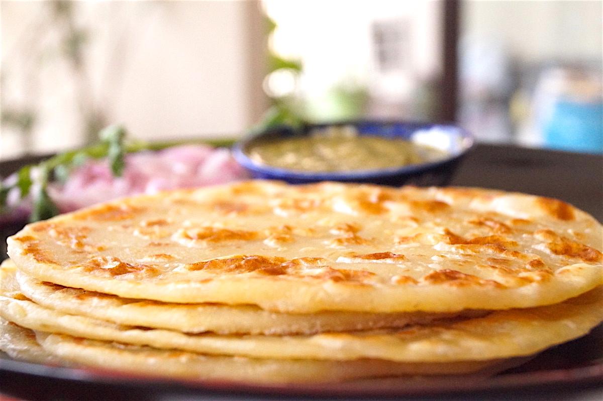Indian flour based flatbread paranthas