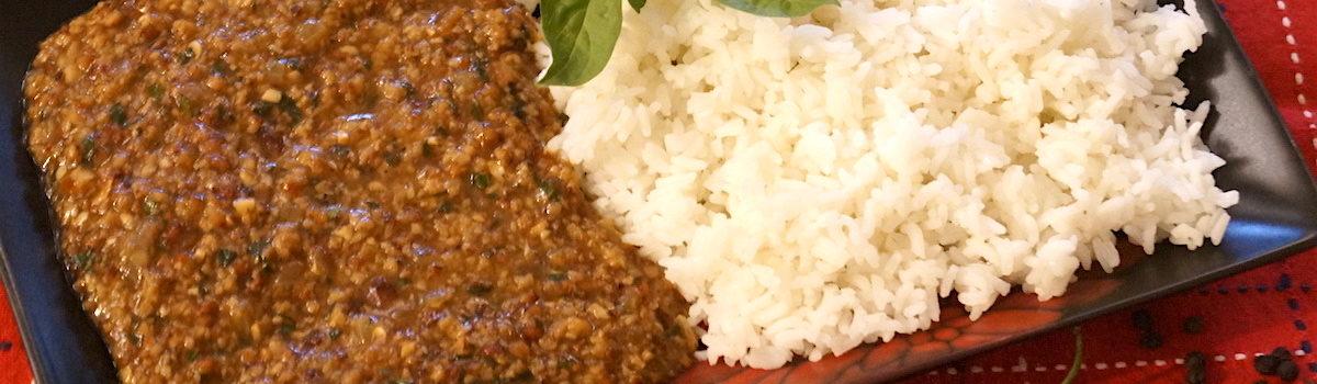Spicy Thai Basil Lamb